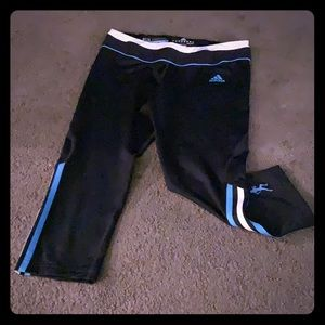 Athletic adidas tights